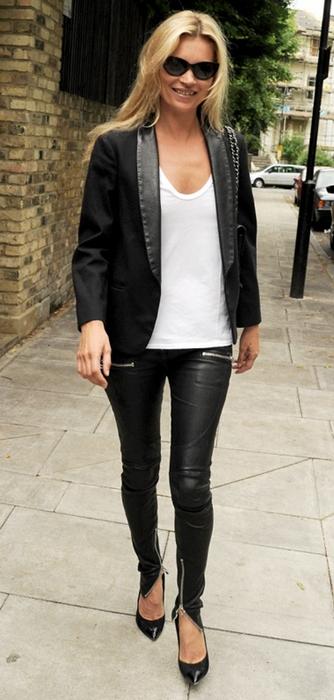 Kate Moss fanget på shoppetur i London