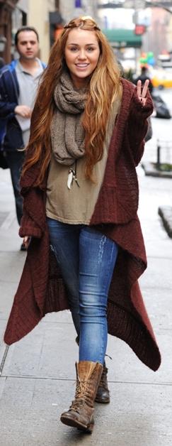 Miley Cyrus på shoppetur med veninde i New York