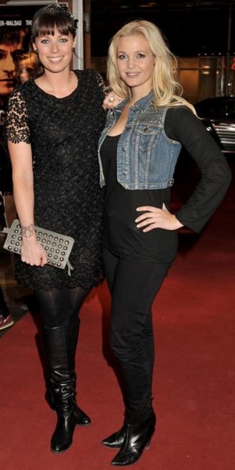 Tina Lund enkelt klædt til Blekingegade-premieren