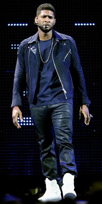 Usher optræder med David Guetta i Las Vegas