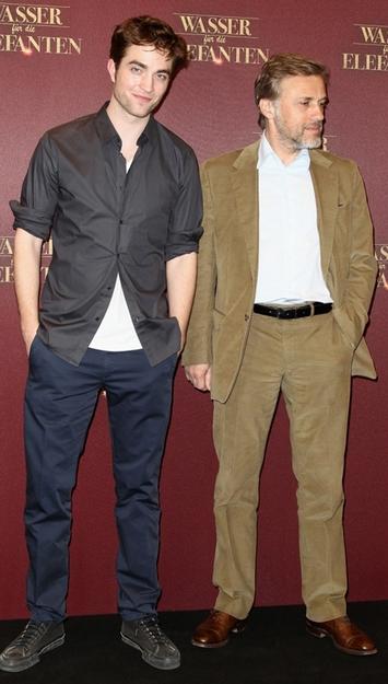 Robert Pattinson til premiere på Vand til elefanterne