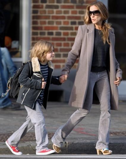 Sarah Jessica Parker med sin søn James