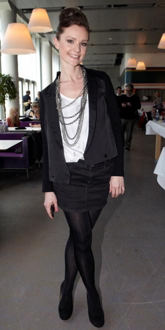 Lise Rønne til Dansk Melodi Grand Prix 2011-pressemøde