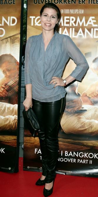 Cecilie Stenspil til premiere på Tømmermænd i Thailand
