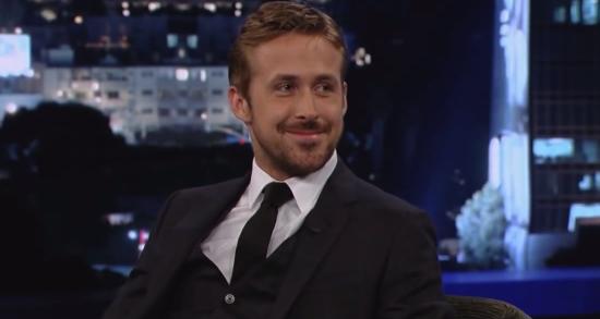 Ryan Gosling - Jimmy Kimmel Live 1